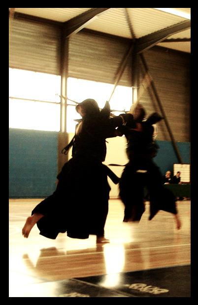 Kendo shiai by Abaradake