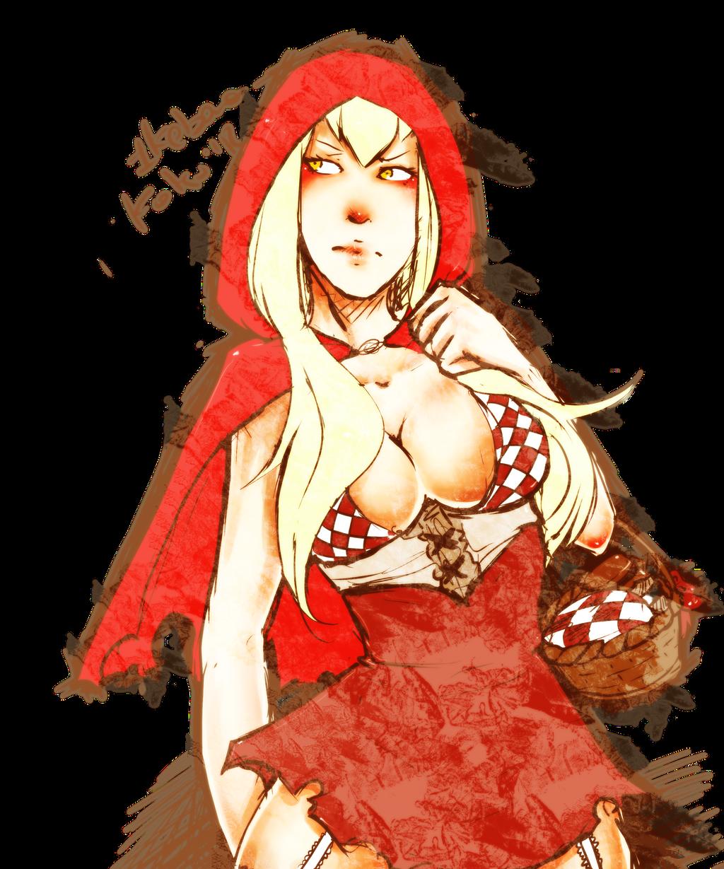 Redhood by IkebanaKatsu