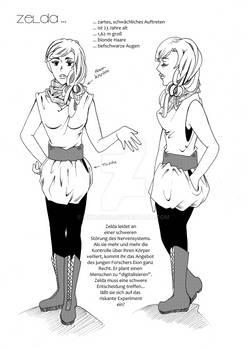character sheet - Zelda