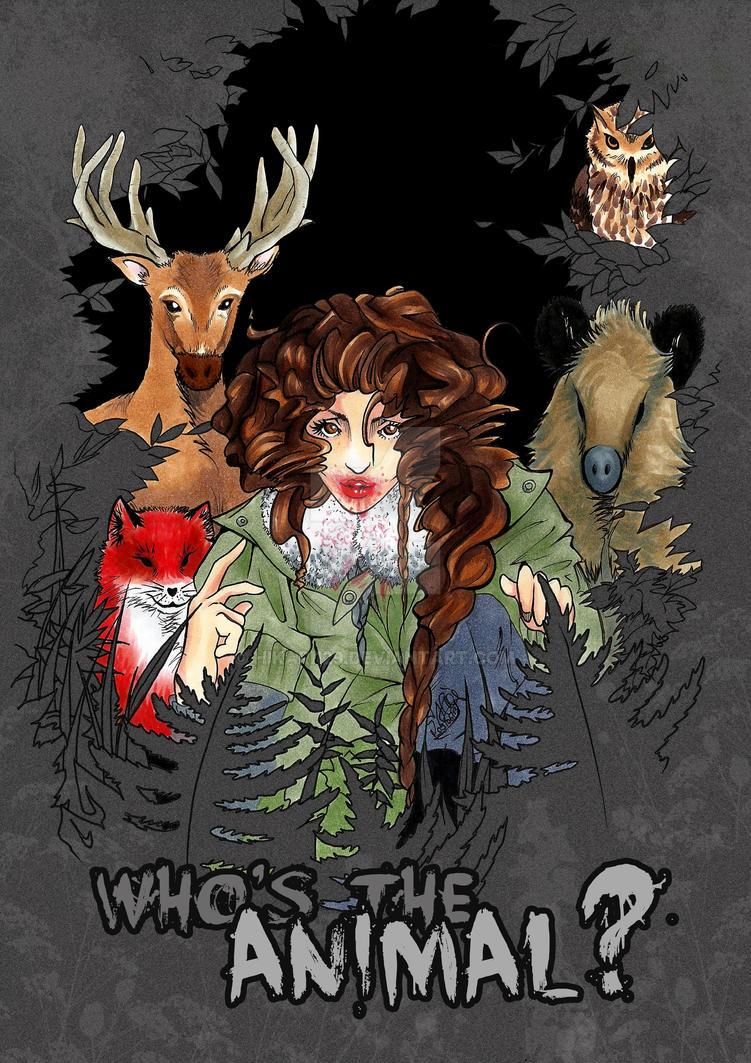 Who's the animal? by Hikari129
