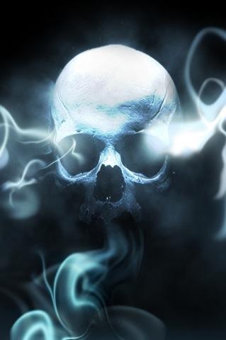 smoking skull by Minifixer on DeviantArt