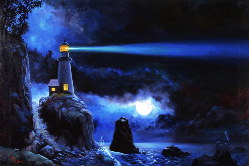 Midnight Beacon by filiusdracul