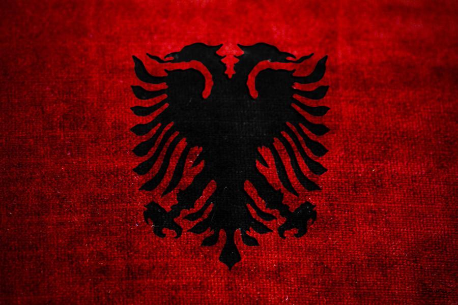 Albanian Flag By Redvenger On DeviantArt - Albanian flag