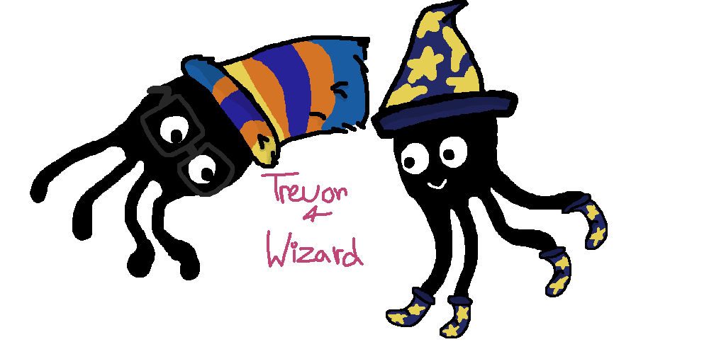 Trevor and Wizard by fiendparty