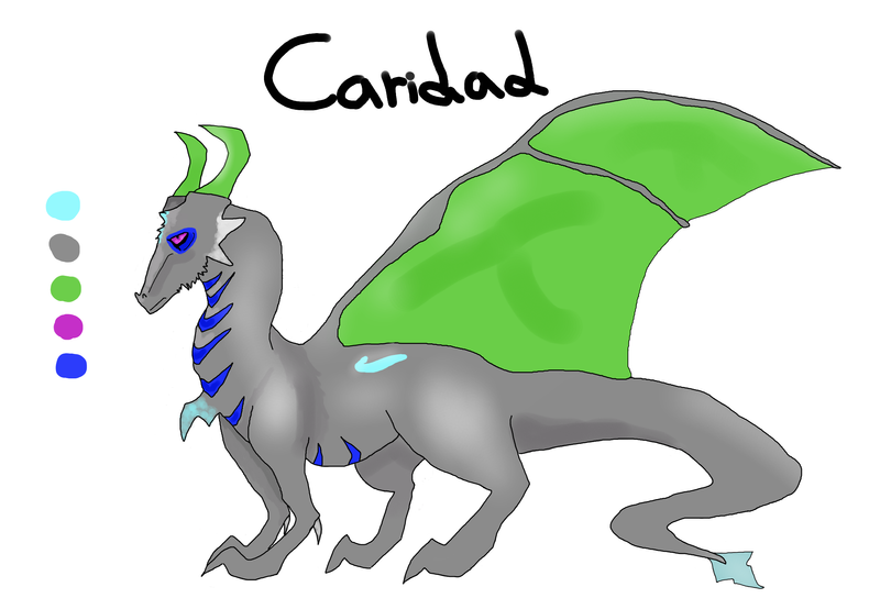 Caridad ref (WIP) by fiendparty