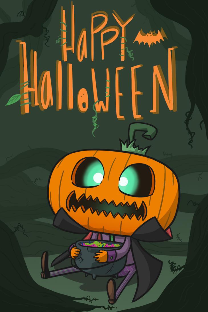 Happy Halloween by frozeniron21