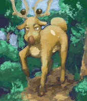 Stantler by Psidra