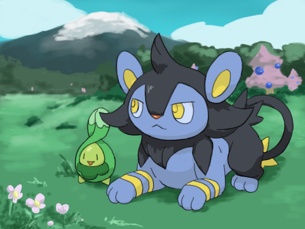 Shinx, Luxio, and Luxray on The-Feline-PokemonFC - DeviantArt