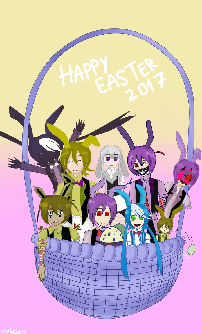 Happy Easter 2017 (Basket of Bonnies) by Applesauce006