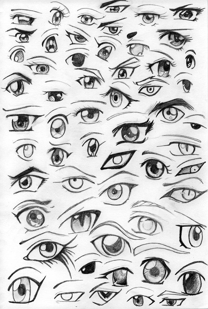 Anime Eyes By Kitty-xx On DeviantArt
