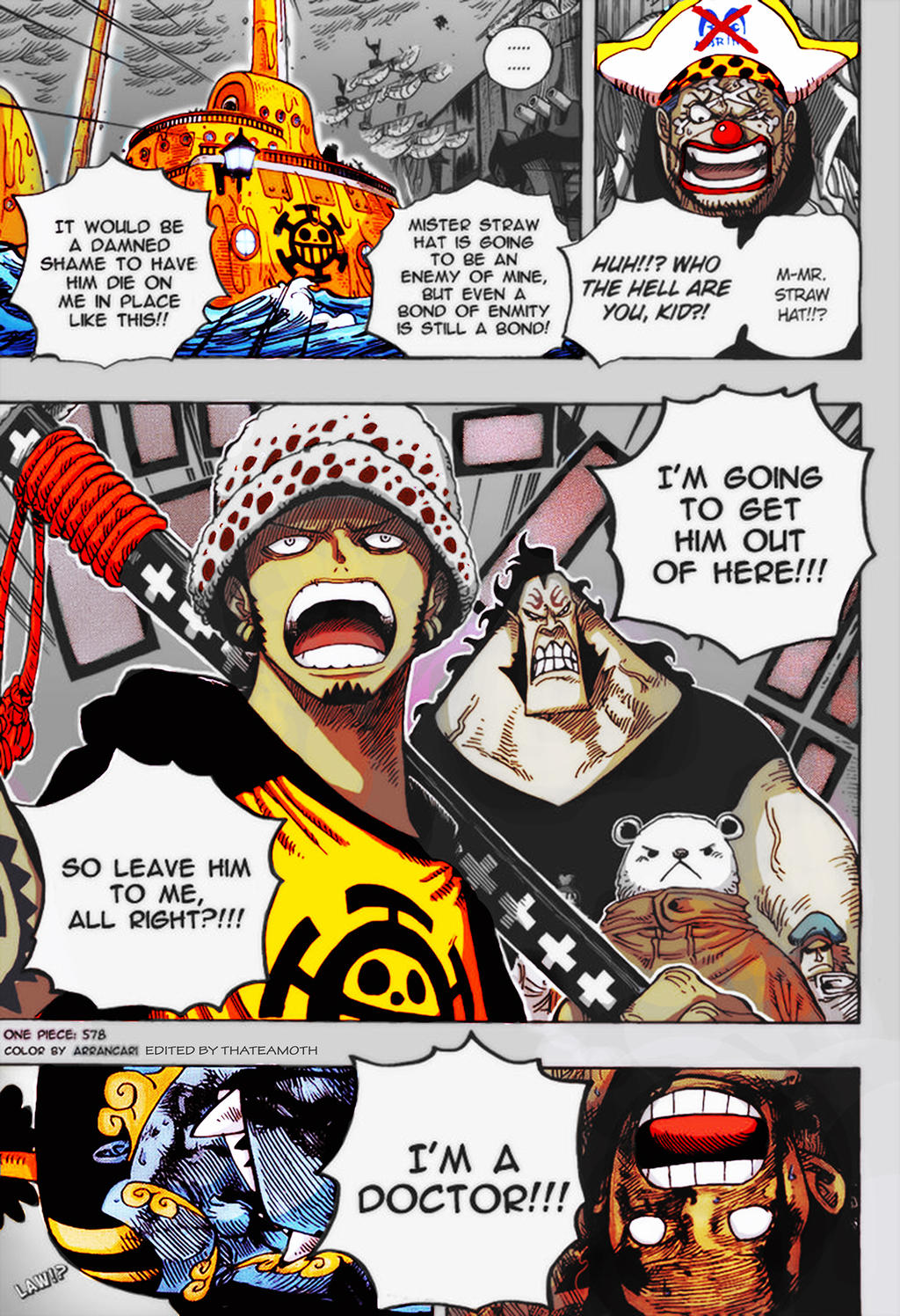 One Piece Chapter 578 Book 59 By Thetamoth