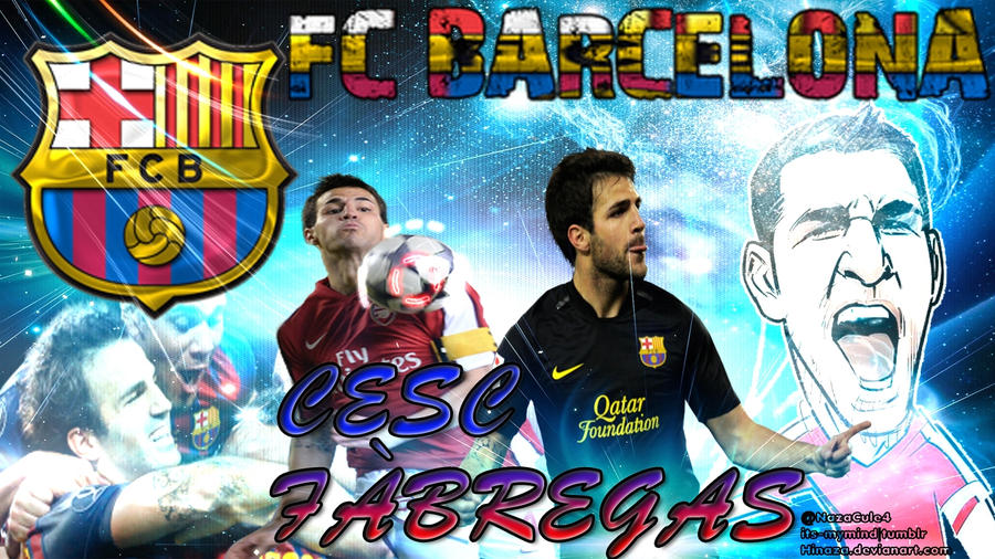 Cesc Fabregas|Wallpaper by Hinaza on DeviantArt