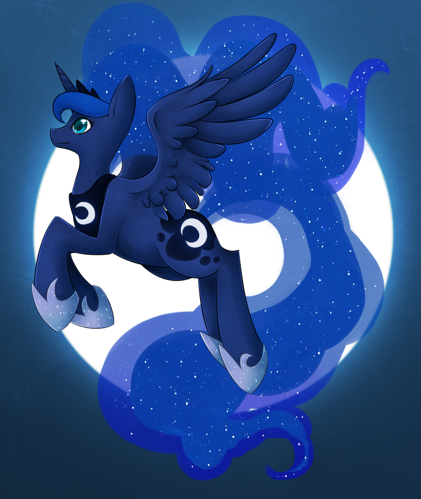 Princess Luna by Opheleus