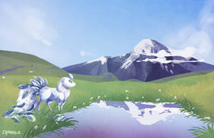 Mountain by Opheleus