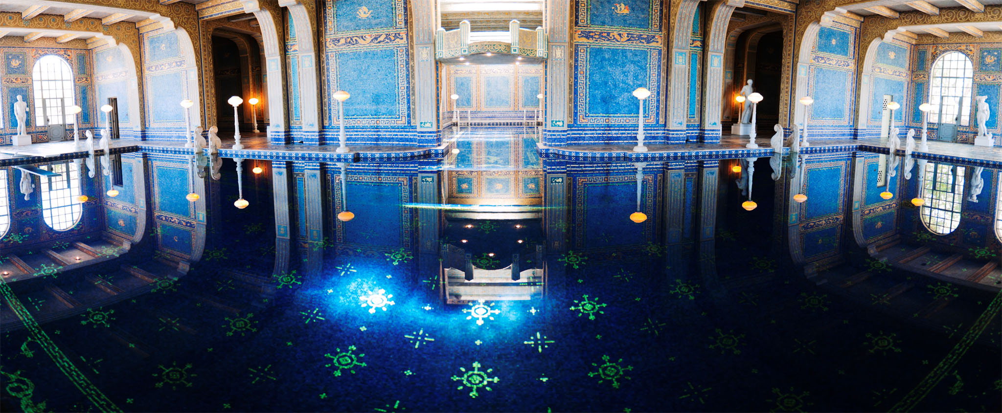 Hearst castle underground swimming pool by realsheva on for Underground pool