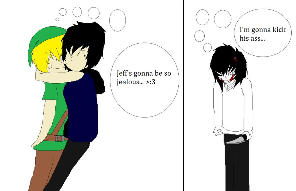 Jeff X Ben Lemon: [ Creepypasta ] Eyeless Jack X Ben Drowned