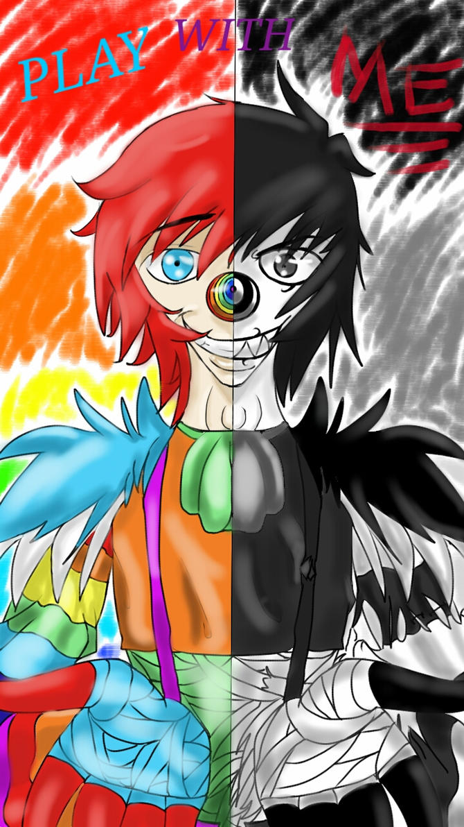 Laughing Jack:Play With ME by Saviour-Of-The-Fate