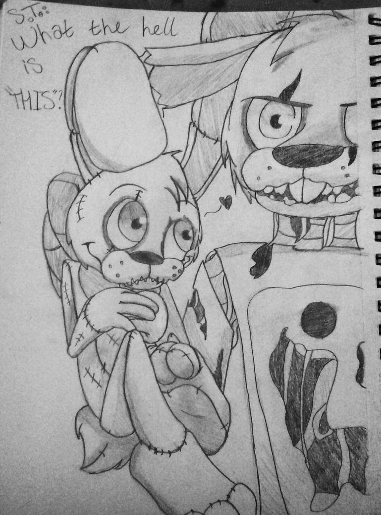 Springtrap: What the hell is 'THIS'? by Saviour-Of-The-Fate