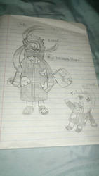 Tobi and Deidara  by ArcanineMike