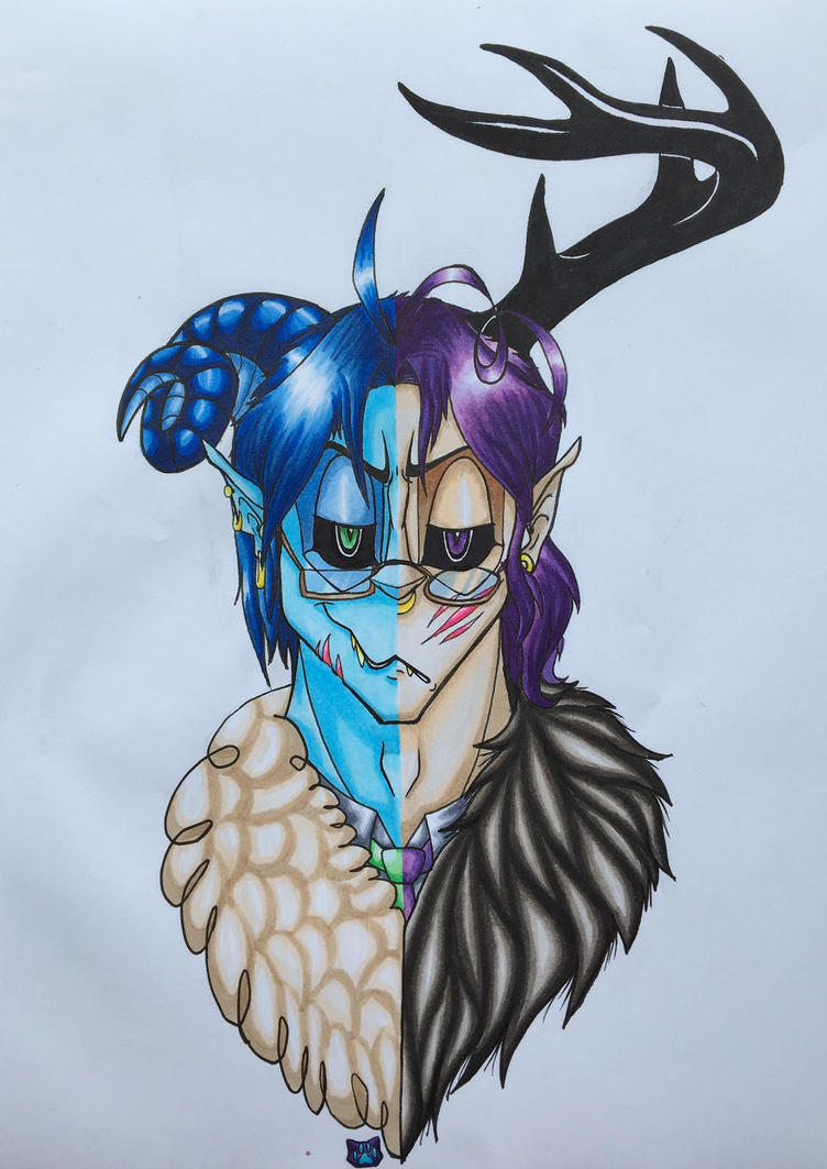 [Aph] Sweet devils by DragonCatZombie