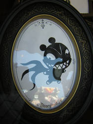 Vampire Teddy Sillhouette by disneyland-stock
