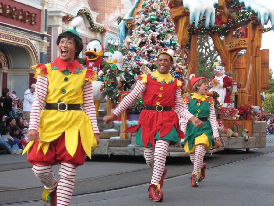 Dancing Elves by disneyland-stock