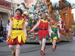 Dancing Elves by disneyland-stock