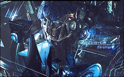 Optimus Prime signature by xVeDoOox