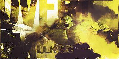 Hulk signature by xVeDoOox