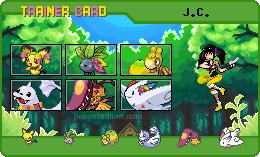 Pokemon Trainer Card by Keymasterc11