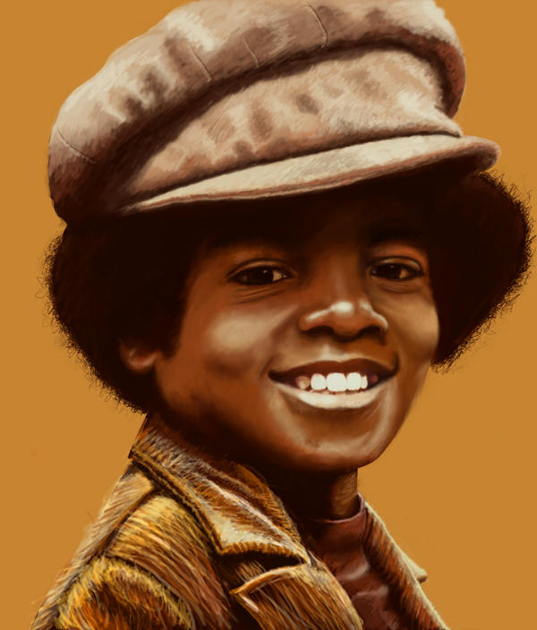 Young michael jackson by siryouss