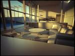 house fukaya interior sunset