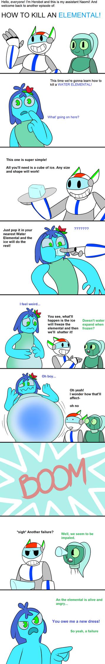How to Kill an Elemental: Aqua by awesomesir