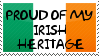 Irish Heritage Stamp by QuetzalLeo