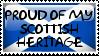 Scottish Heritage Stamp by QuetzalLeo