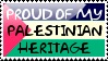 Palestinian Heritage Stamp by QuetzalLeo