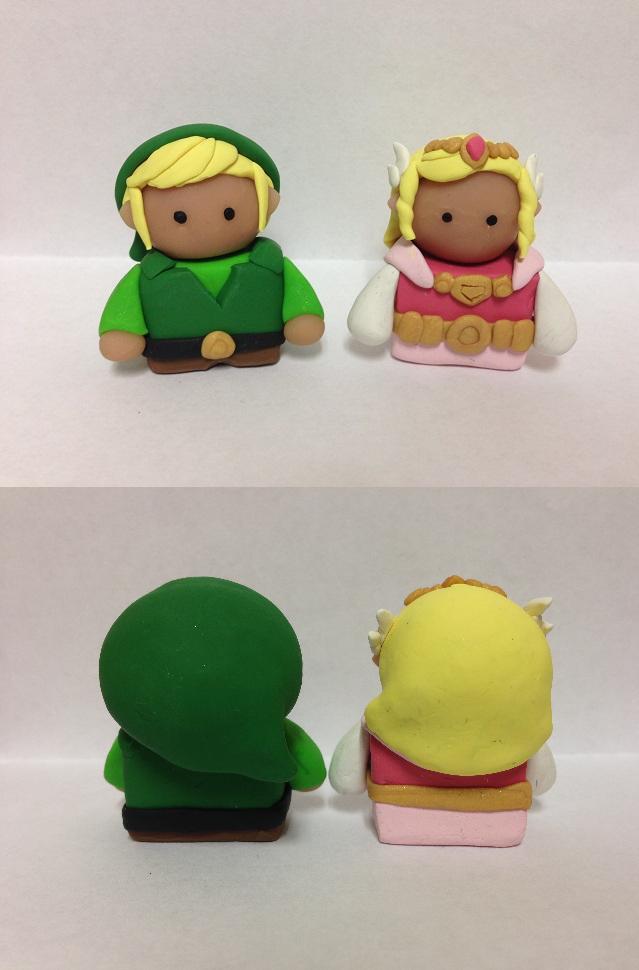 Link and Zelda by QuetzalLeo
