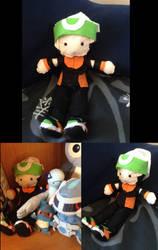 Brendan/Ruby - Pokemon Trainer Doll