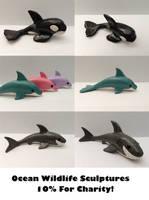 Ocean Sculptures - Support Ocean Conservation