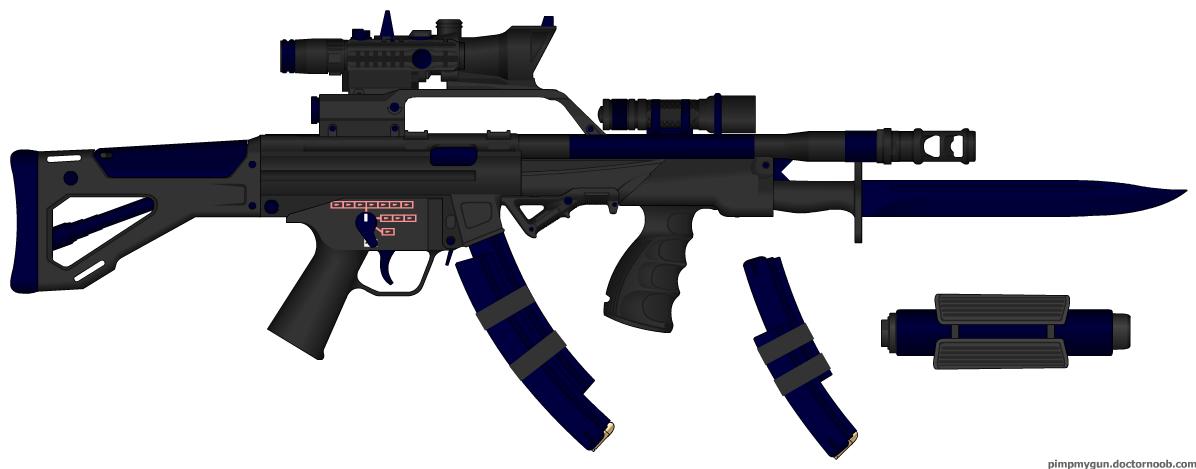 Gallery For > Futuristic Submachine Guns
