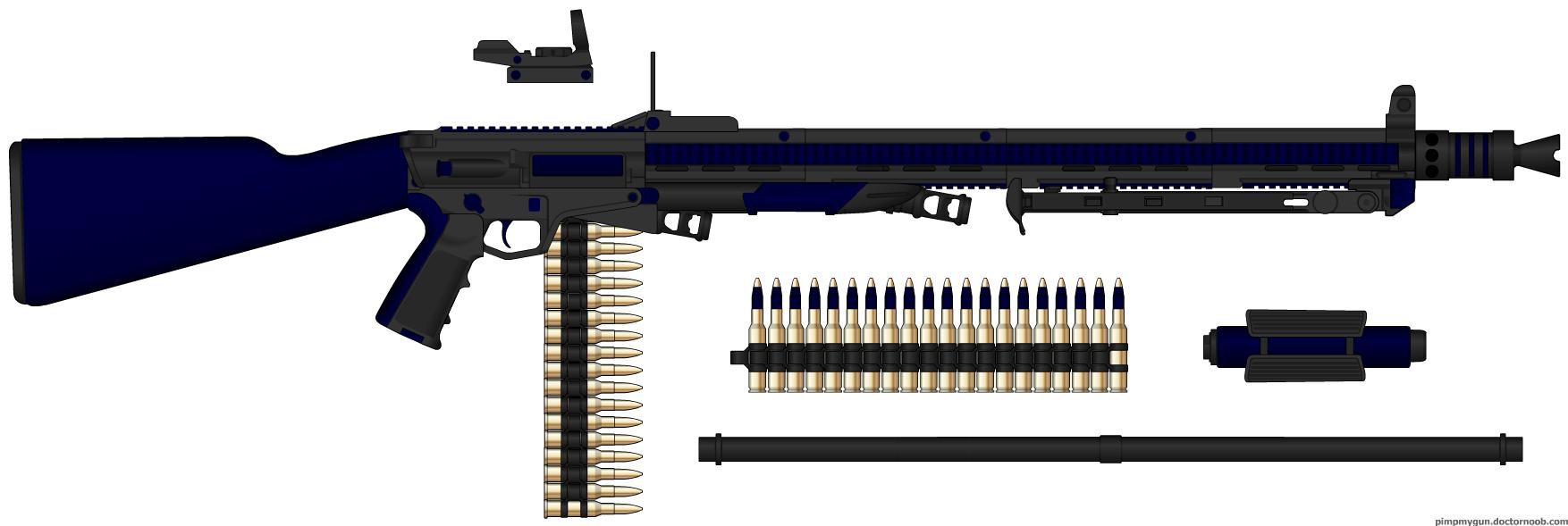 NFA Heavy Machine Gun by HaX0r332