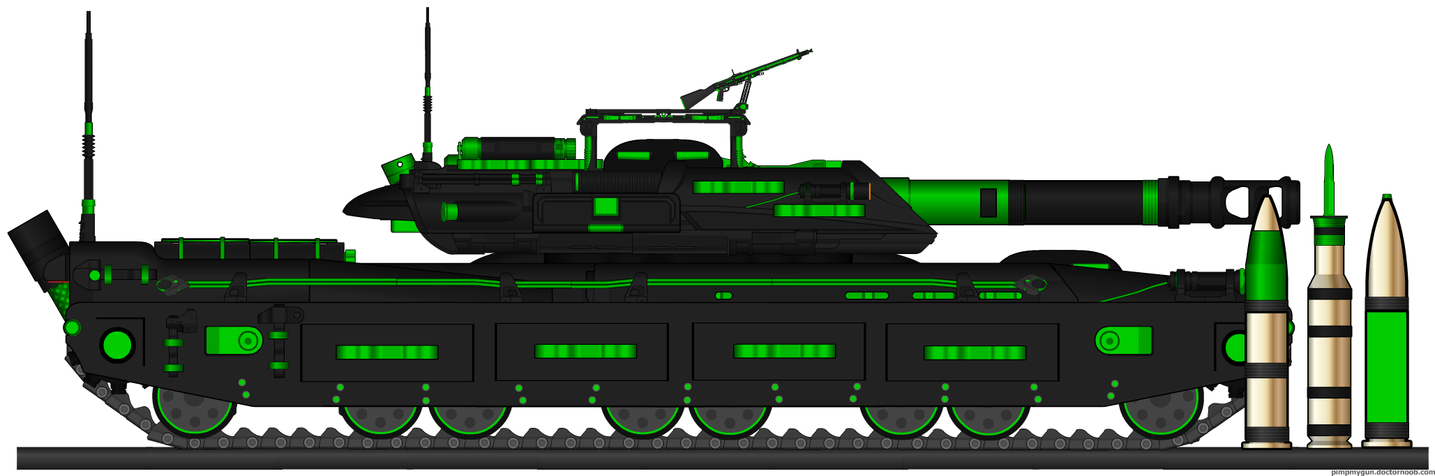 NFA Main Battle Tank Ausf. 2 by HaX0r332
