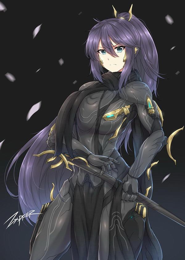 Excalibur Umbra Girl By Zxpfer On Deviantart