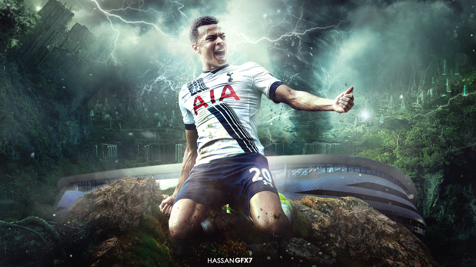 Dele Alli Wallpaper By HassanGFX7 On DeviantArt