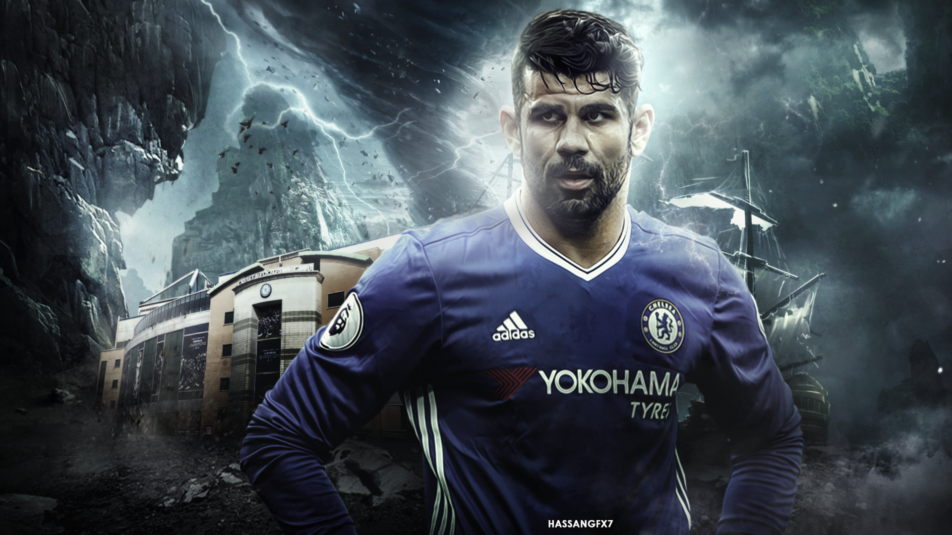 Diego Costa 2016 17 Wallpaper By Hassangfx7 On Deviantart HD Wallpapers Download Free Images Wallpaper [1000image.com]