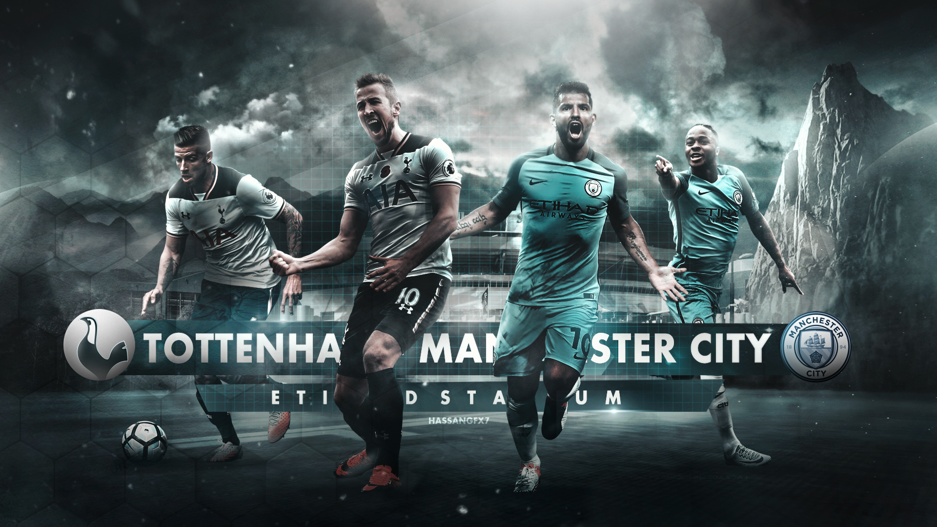 Manchester City Tottenham Matchday Wallpaper By Hassangfx7