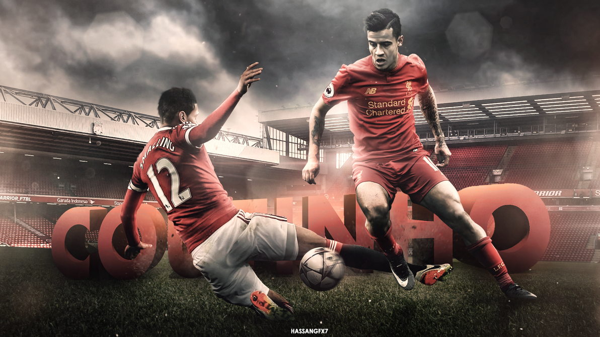 Philippe Coutinho Wallpaper 2016/17 By HassanGFX7 On