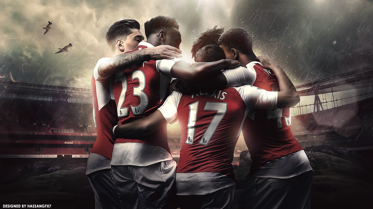 Arsenal FC Desktop Wallpaper by HassanGFX7 on DeviantArt