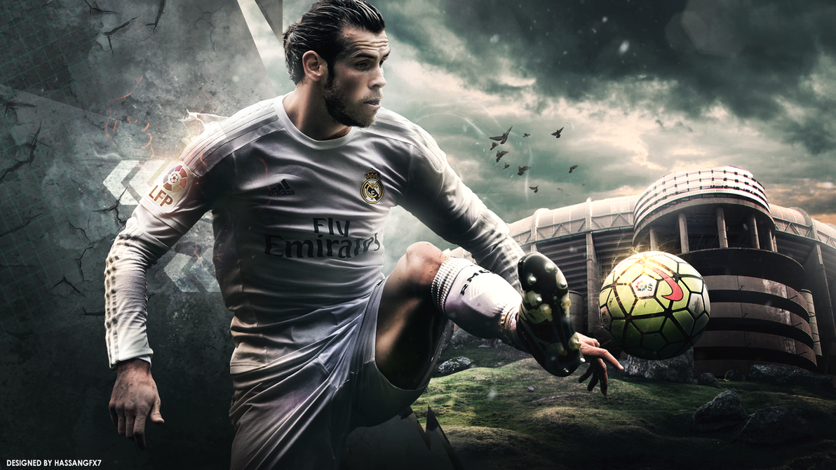 Gareth Bale Wallpaper 2016/17 by HassanGFX7 on DeviantArt
