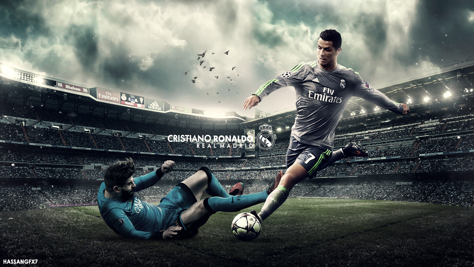 Cristiano Ronaldo Wallpaper 2016/17 by HassanGFX7 on DeviantArt